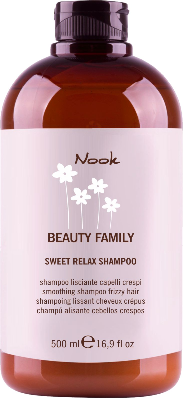 Nook Beauty Family Sweet Realax šampon pro zkrepatělé vlasy  500 ml