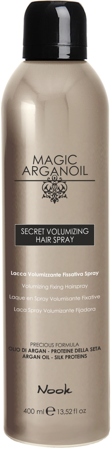 Nook Magic Arganoil Secret silně tužící lak 400ml