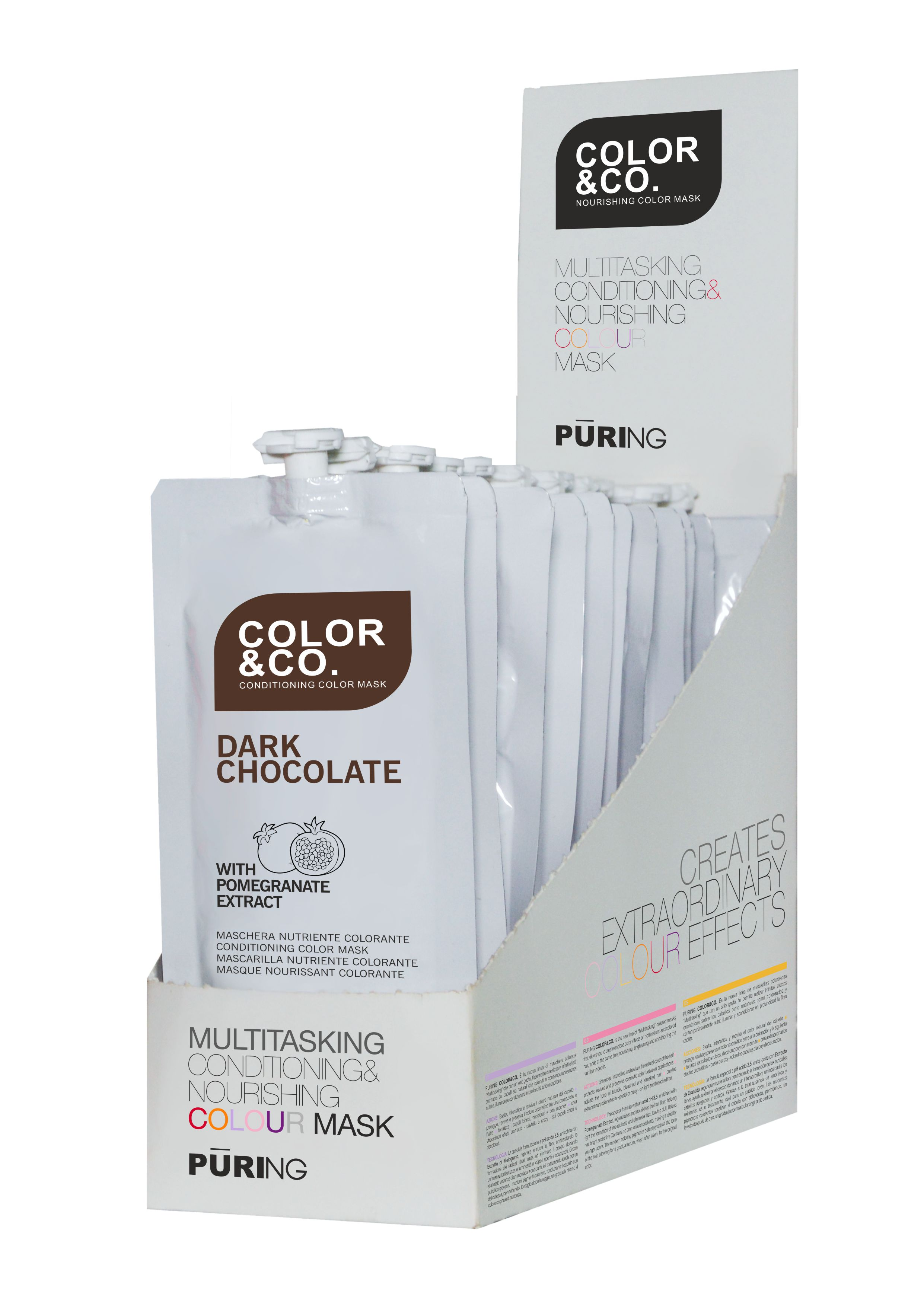 Puring Color&Co DARK CHOCOLATE