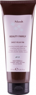 Nook Beauty Family Sweet Relax maska na zkrepatělé vlasy  250 ml